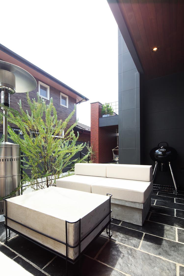 SIBUSAWA STYLE CONCEPT HOUSE 外部空間