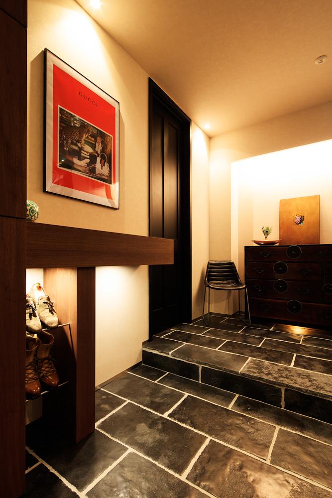 SIBUSAWA STYLE CONCEPT HOUSE 玄関ホール
