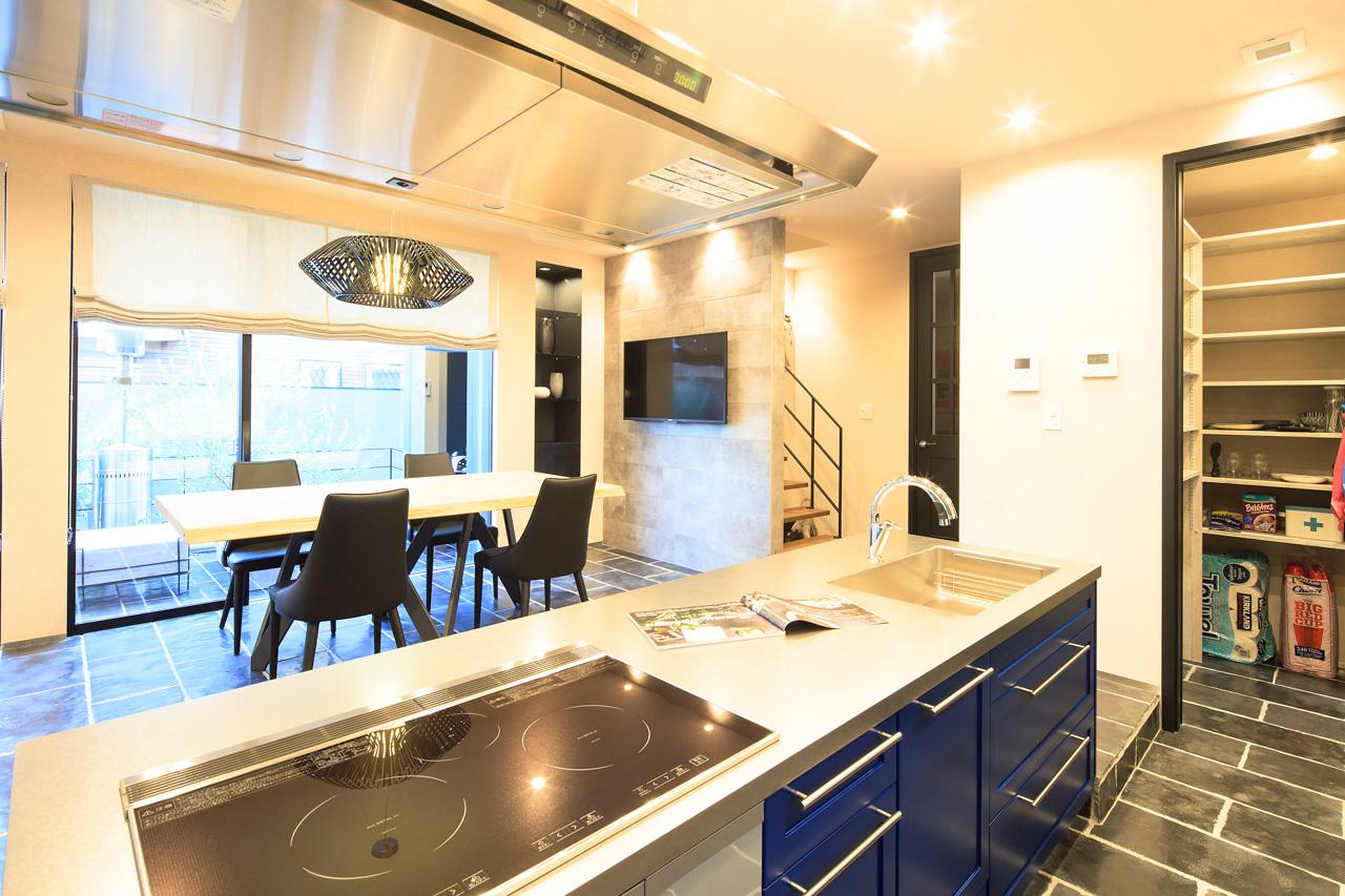 SIBUSAWA STYLE CONCEPT HOUSE キッチン
