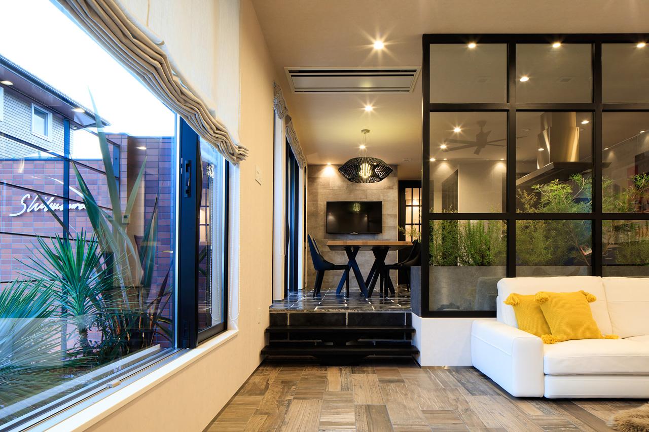 SIBUSAWA STYLE CONCEPT HOUSE リビング