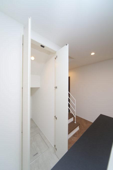 階段下 収納 生活動線 家事効率 キッチン横 間取り シブサワスタイル