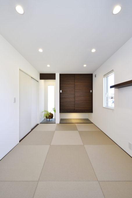 和室 畳みのある暮らし ヨガ教室 シブサワスタイル