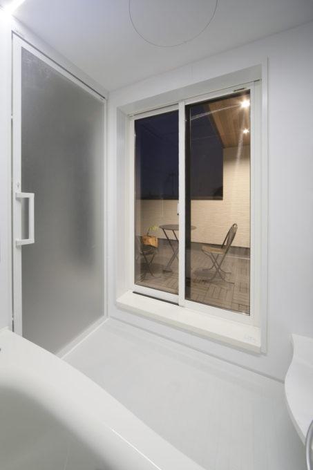 シブサワスタイル 2階 バスルーム バルコニー プライベート