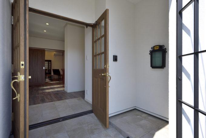 バリアフリー スロープ 玄関 シブサワスタイル