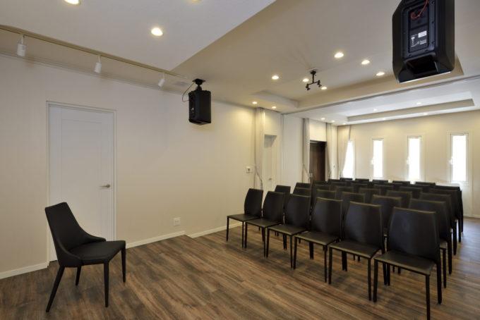 音楽ホール併用住宅 シブサワスタイル