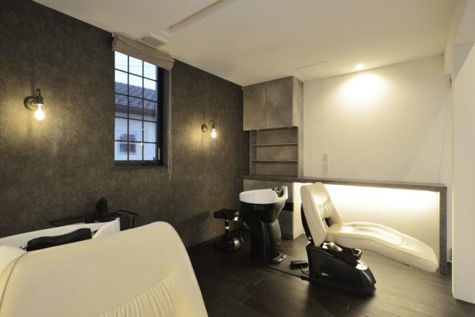 シブサワスタイル 美容室 ヘアサロン シャンプーフロア
