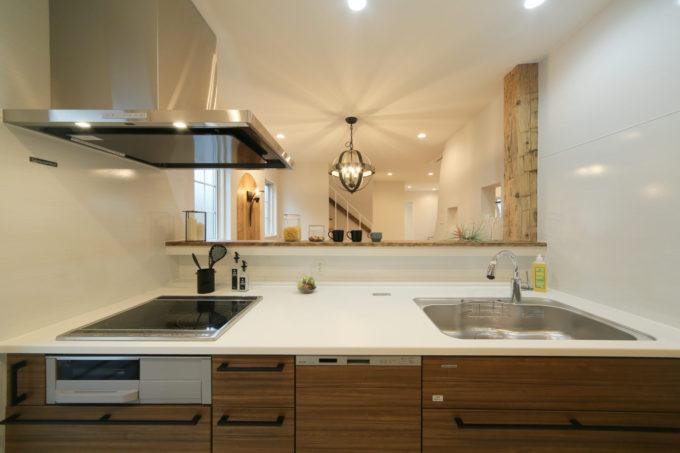 キッチン シンプル シブサワスタイル