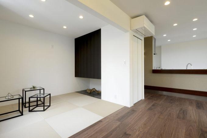 畳コーナー 畳スペース 和室 シブサワスタイル